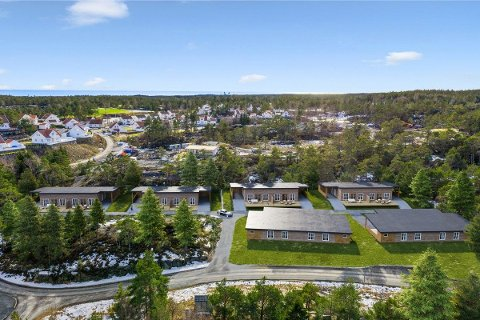 Til sammen 12 boliger er planlagt å bygges på Stabbestad.