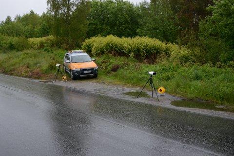 Statens vegvesen lovar fleire kontrollar i helgene i Kvinnherad. (Arkivfoto)