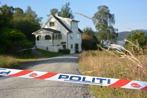 Sigmund Gravdal blei funnen drepen i heimen sin på Sandvoll i juli 2013. (Arkivbilde).