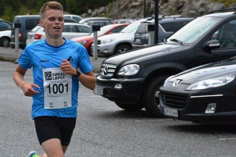 22 år gamle Erlend Nymark Jensen vart suveren vinnar av årets SØRAL-løp.