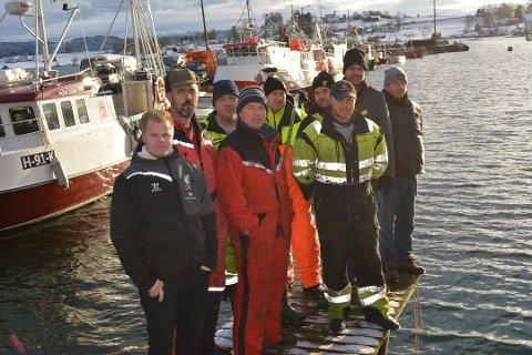 Fiksarane på Halsnøy kan gle seg over at det truleg blir ny fiskerihamn i Kobbebukta. (Arkivfoto).