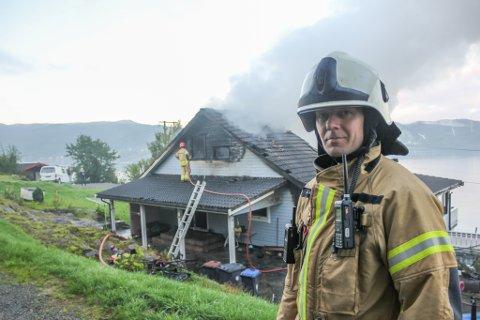 Atle Josdal blir ny brannsjef. (Arkivfoto).