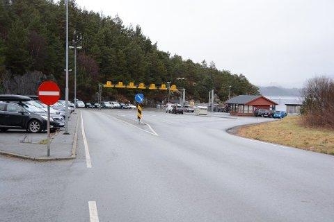 Frå ferjekaien på Ranavik. (Arkivfoto)