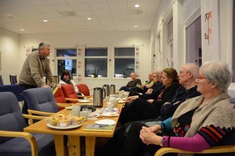 Tysdag møttest representantar frå ulike lag og organisasjonar for å diskutera utvikling av friluftsområde på Husnes. Møtet var eit inititativ frå Bjørn Heimvik (t.v.) og Morten Vevatne.
