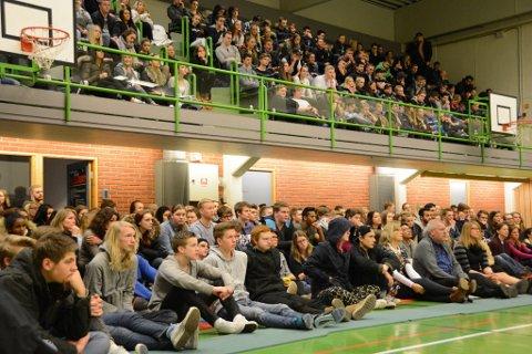 Onsdag fekk KVV-elevane ein heil fagdag med temaet rus og psykisk helse.
