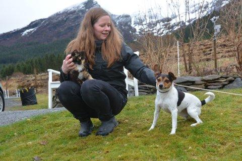 Una Kolle kom til Kvinnherad for 14 år sidan på jakt etter småbruk. (Arkivfoto).