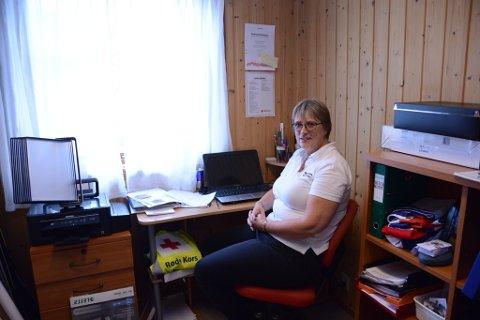 Oddrun Steinsland er tilsett som ny flyktningguidekoordinator, og begynner i jobben 1. september. Kontoret hennar blir her, i Røde Kors-huset på Husnes.