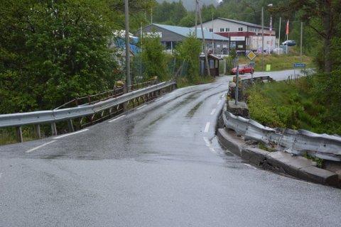 Handeland bru på Sandvoll er prioritert hos Statens vegvesen, og prosjekteringa er i gang. (Arkivfoto).