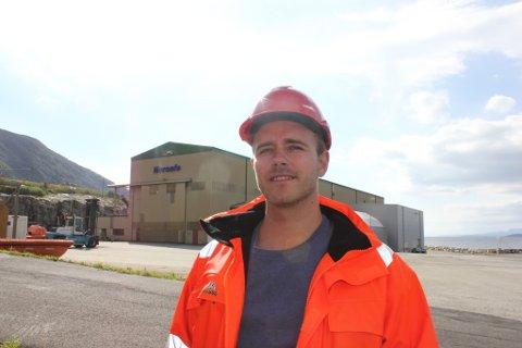 Aleksander Skaala er optimist og trur det vil bli full aktivitet på industriområdet på Årsnes igjen.
