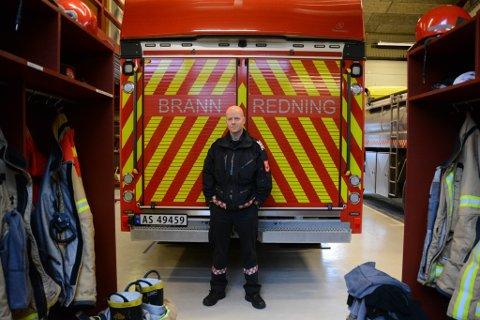 Atle Josdal (43) starta i jobben som ny brannsjef etter Grete Nesheim 1. desember. Han har mange nye tankar og idear for det han kallar «nye» Kvinnherad brann og redning.