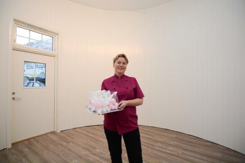 Elin Enes utvidar tilbodet ved Elins Matgleder. I slutten av februar opnar ho ny delikatessebutikk i denne siloen.