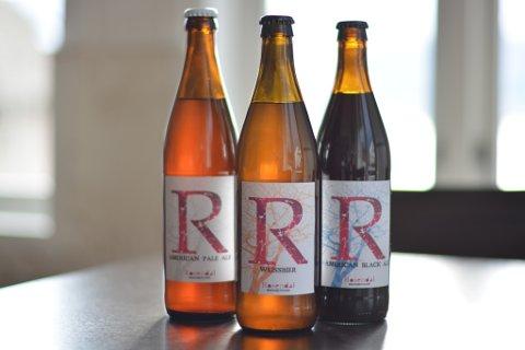 NYTT LOKALT ØL: Rosendal turisthotell får sitt eige mikrobryggeri. Tre typar øl er klare for å bli seld frå hotellet når løyva er på plass.