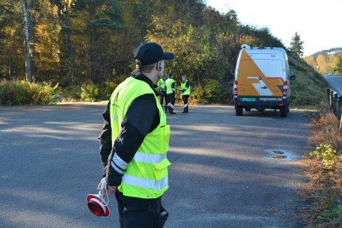 Tre bilar blei kravt avskilta då Statens vegvesen heldt trafikkontroll i Rosendal og på Husnes torsdag. (Arkivfoto)