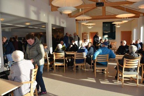Siste avdelinga ved Rosendalstunet skal opnast i løpet av vinteren. Her frå ope Rosendalstun i februar. (Arkivfoto).