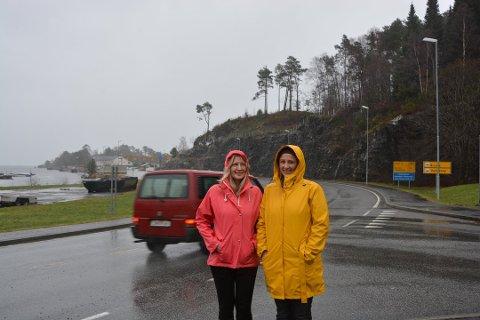Åshild E. Femsteinevik (leiar i trafikksikringsgruppa) og Annike Nistad her frå eit tidlegare høve.