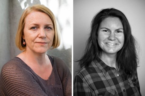FORFATTARTREFF: Møt Brit Bildøen (foto: Linda Cartridge) og Veronica Erstad (foto: Anne Andersen) i eit spennande møte i biblioteket 11. april.