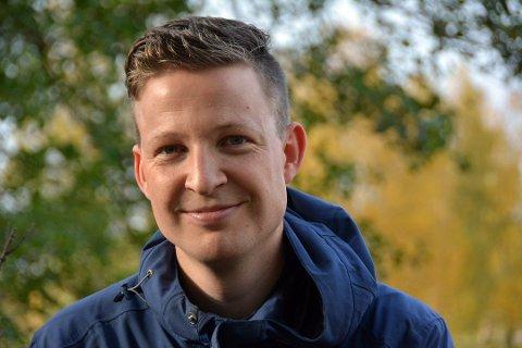 Fprfattar Anders Totland er tildelt Ordknappen 2018.