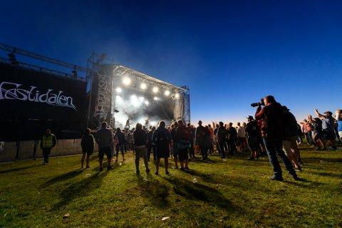 Festidalen-leiinga er skuffa over at publikumstala ikkje var betre i år. (Foto: Lars Martin Teigen).