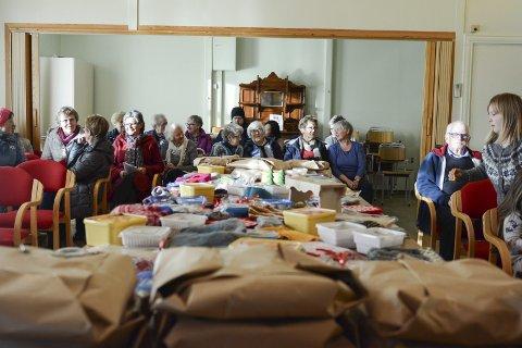 SAMLINGSSTAD: Bedehuset på Sandvoll kan bli forsamlingshus. (Arkivoto).