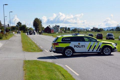 SYNFARING: I august 2017 var Sunnhordland tingrett i Sandvikjo for å synfara ulukkesstaden. (Arkivfoto).