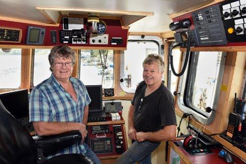 STØDIG STYRING: Brørne Odd Emil og Onar Sjo har dei siste åra styrt Sjohav AS mot stadig finare resultat.