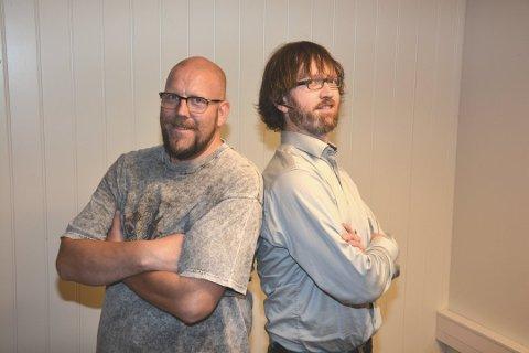 Karl Petter Vårdal og Gaute Lund leier den humanistiske konfirmasjonen. (Arkivfoto).