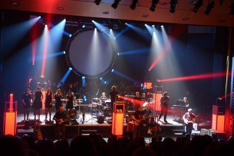 Pink Floyd-konsertane i fjor blei stor suksess. No er også årets billettar utselde, ei veke før. (Arkivfoto).