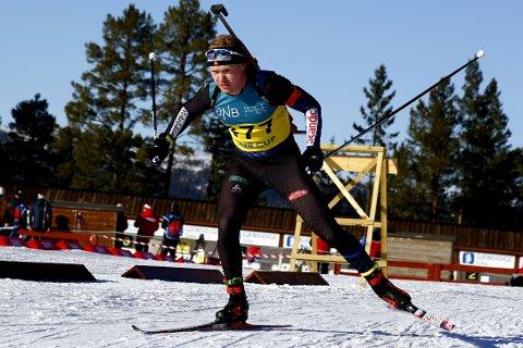 Martin Femsteinevik leverte ein god norgescupsprint då han skaut fullt hus og gjekk inn til ein sterk andreplass i Orkdal.