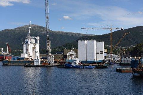 BYGGJA OM: MS «Nordskinn» kjem straks til Halsnøy Dokk for å bli oppgradert.