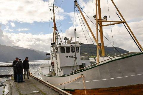 """FEKK STØTTE: Opsanger kystlag si """"Vaarsol"""" er eit av dei 3 fartøya i Kvinnherad som får restaureringsstøtte frå Hordaland fylkeskommune. (Arkivfoto)."""