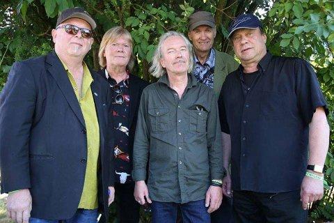TIL ROSENDAL FEST: Legendene i Bergen Blues Band spelar torsdag både nye låtar og sine største hits på Rosendal Fest på Snikkeriet. (Pressefoto).
