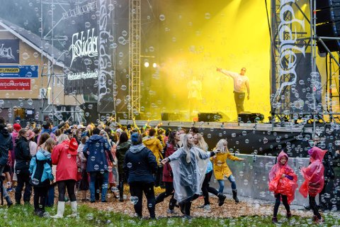 Illustrasjonsfoto frå Festidalen 2017.