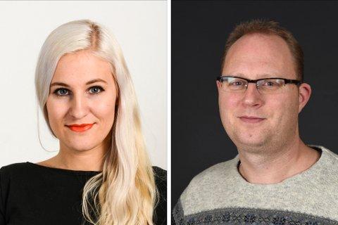Mona Grønningen og Tomas Bruvik. (Arkivfoto).