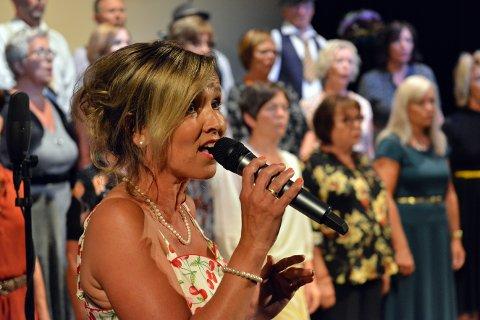 Kristin Isdal Eide er ein av fleire gode solistar i Strupebandet.