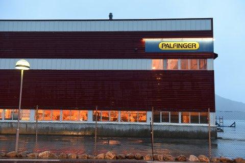 Kommunen er interessert i å kjøpa Palfiinger-bygget.