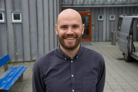 FORNØYD: Dagens ordfører på Stord, Gaute Epland (Ap).