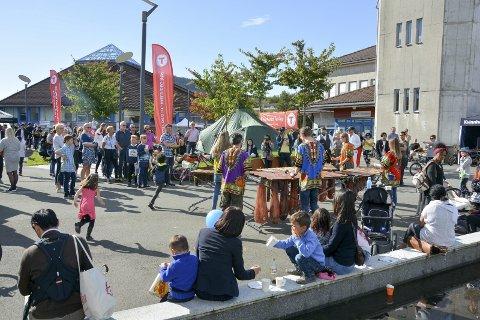 LIV OG RØRE: Frå fritidsmessa september 2017. Arkivfoto