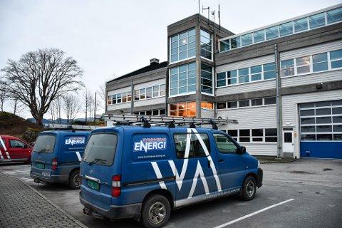 Illustrasjonsfoto frå Kvinnherad Energi sin base i Dimmelsvik.