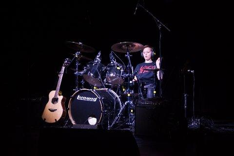 Trommeslagar Johannes Røyrvik Grov var av dei som deltok på UKM i fjor.