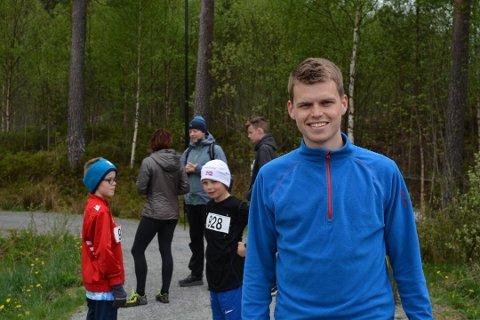 Erlend Nymark Jensen er ein av søkjarane til fastlegeheimelen på Husnes. (Arkivfoto).