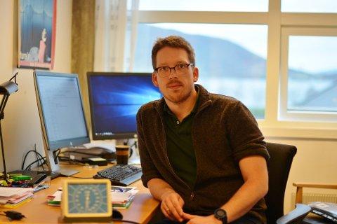 Kommuneoverlege Glenn André Opland. (Arkivfoto).