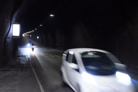 Halsnøytunnelen vart gratis 5. september i fjor. (Arkivfoto).