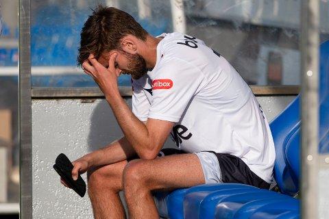 Furdal har hatt ein vanskeleg haust, men klagar ikkje. Her etter tapet mot Molde på Aker Stadion i juli.