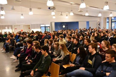 TREND: Nærmare 500 fleire elevar gjekk for yrkesfag i år enn i fjor.