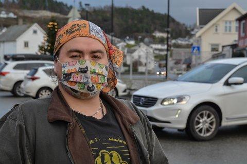 PREGA: Arne Fredrik Bjørndal kom til Halsnøy frå Chile i oktober. Han fortel at koronaviruset råkar det latin-amerikanske landet hardt.