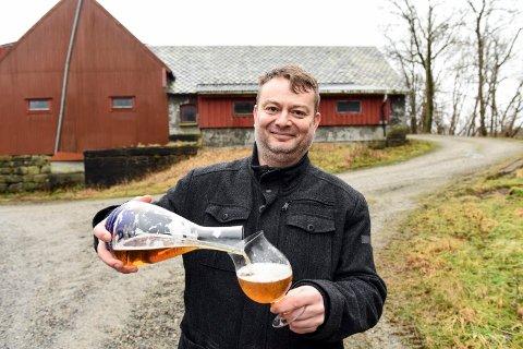 HØG SCORE: Gaute Vaage og Vaage bryggeri sitt juleøl «Jul» får 5 av 6 moglege poeng i Bergens Tidende sin store juleøltest. (Arkivfoto)