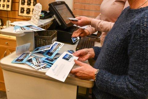 Fleire synest ideen om å kjøpa gåvekort på det lokale handlesenteret i julegåve var god. (Arkivfoto).