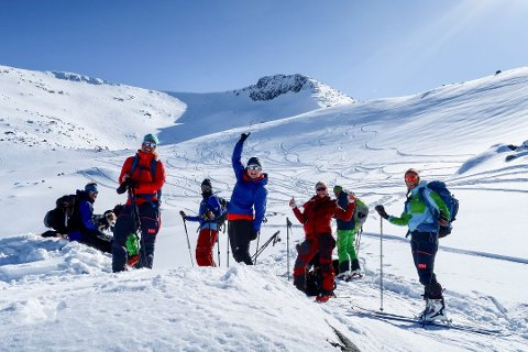 Rosendal Toppturfestival har vore eit populært arrangement for mange friskusar som likar å gå på ski i det flotte Kvinnherad-fjella. No er festivalen avlyst. (Foto: Rosendal Event).