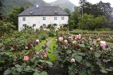 Turistmagnet: Baroniet Rosendal.arkivfoto