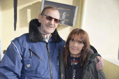 FAR OG DATTER: Terje Falch og datteren Isabell da de ble gjenforent i februar i fjor. To uker senere ble hun påkjørt og drept.